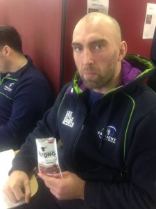 John Muldoon with IrishBiltong