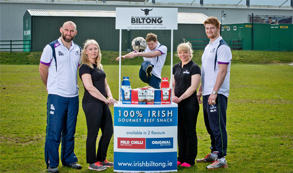 Irish Biltong with Connaught Rugby RFC