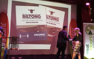 Irish Biltong win another Food Award!