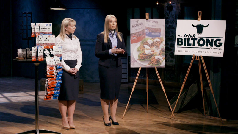 Irish Biltong on Dragons Den