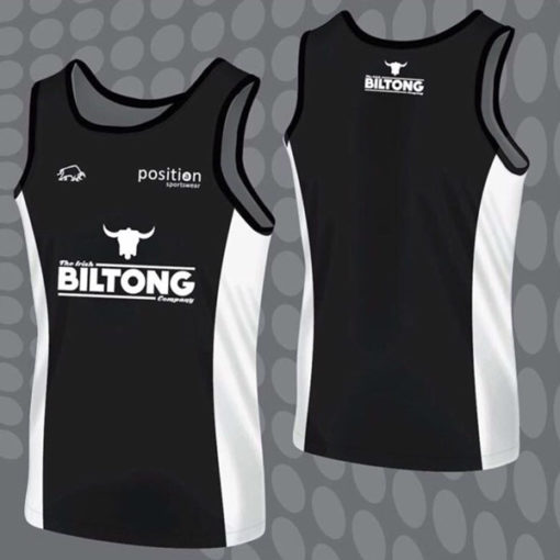 NEW Irish Biltong Sports Vest - July 2017