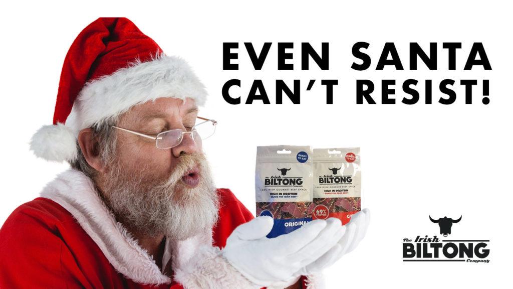 Even Santa Can't Resist
