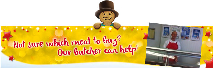 Ask our butcher John