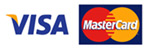 Pay by Visa or Mastercard